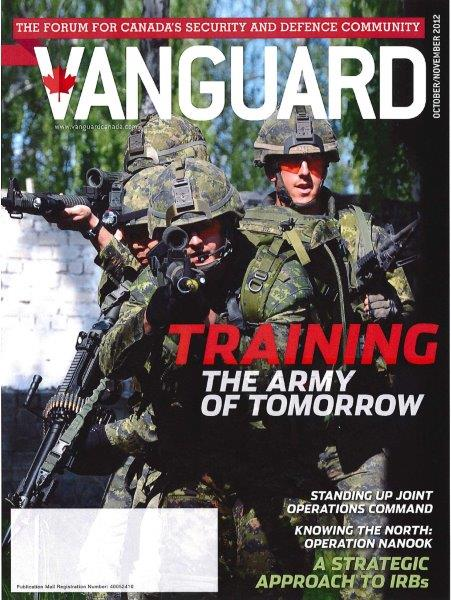 Page couverture - Vanguard