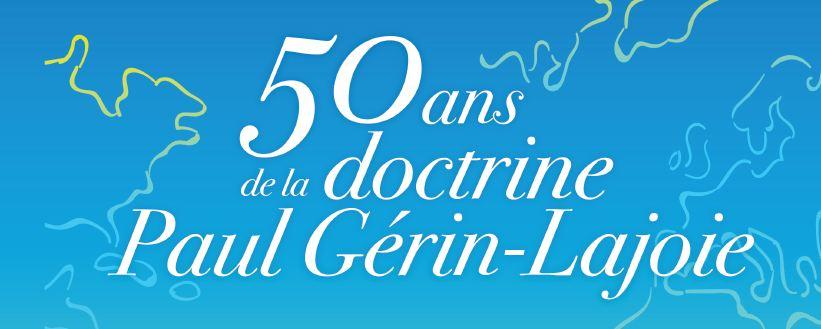 Colloque 50 ans Paul Gérin-Lajoie