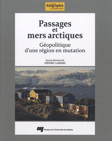 Page couverture - Passages et mers arctiques