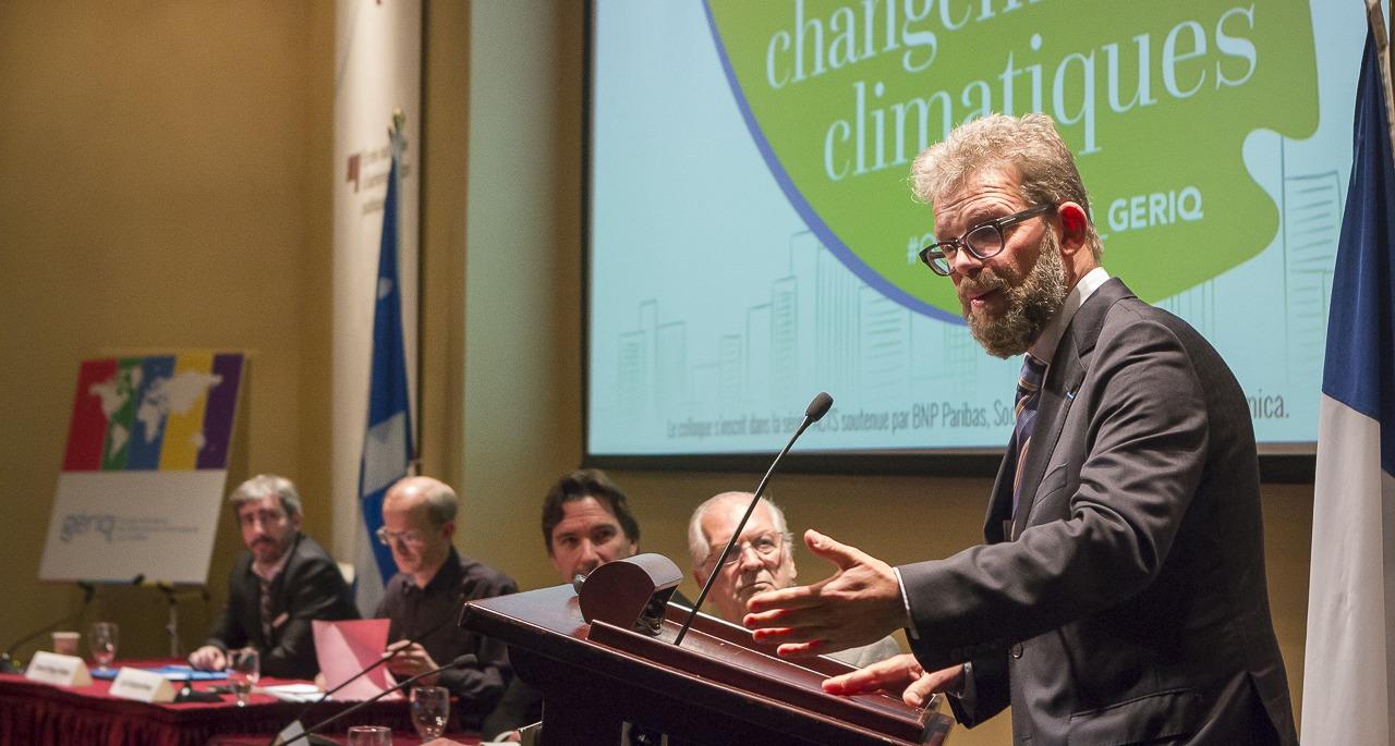 Photo - Colloque Changements climatiques