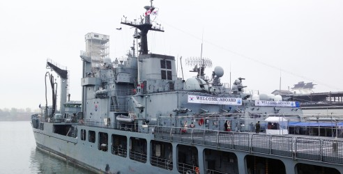 Photo Le ROKS Dae Jo Yeong, un destroyer sud-coréens