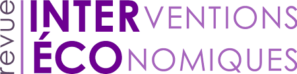 Logo - Revue Interventions écononmiques
